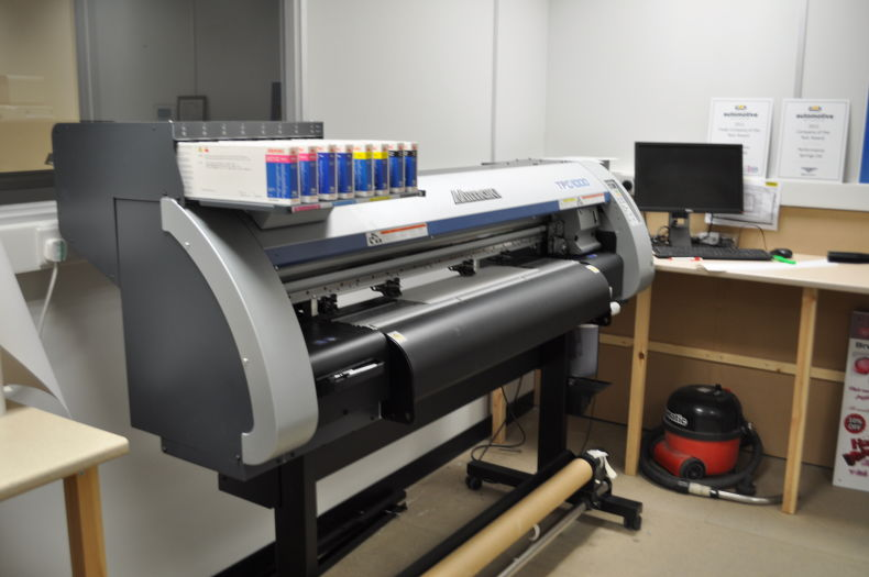 Major Investment in State of the Art Printing Equipment.