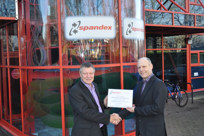 Brunel Engraving Company Become Approved Converter of Spandex Sign Systems