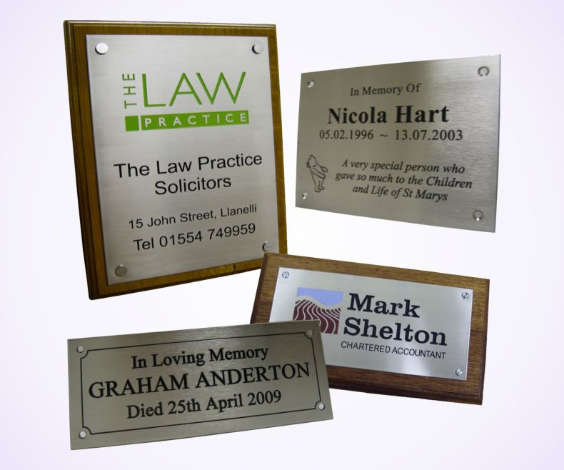 Guide to Fitting Plaques, Nameplates and Labels