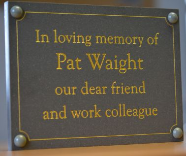 Slate Effect Memorial Wall Plaque