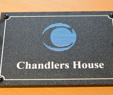 Granite Effect Business Plaque