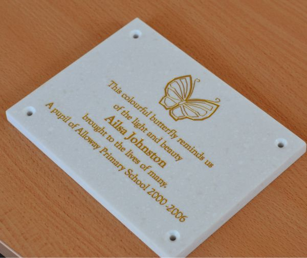 Marble Effect Memorial Wall Plaque Brunel Engraving