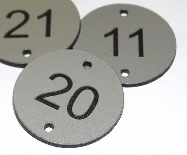 Aluminium effect table number