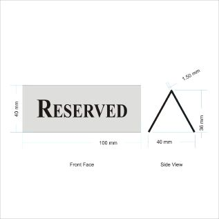Reserved - TTN040 Pkt of 5