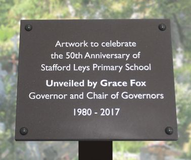 Slate Effect Commemorative Tree Plaque