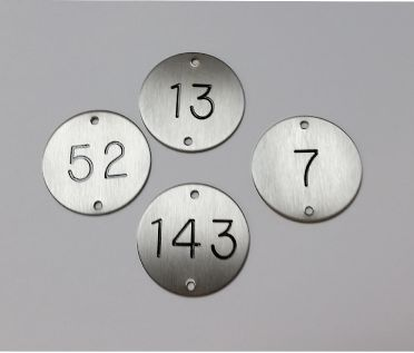 Stainless Steel Table Numbers - 50mm