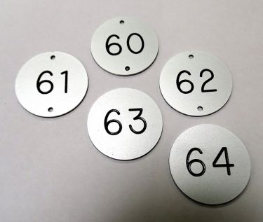 Aluminium Table Numbers Bar Signs Hotel Signs Pub Signs - Restaurant table number signs