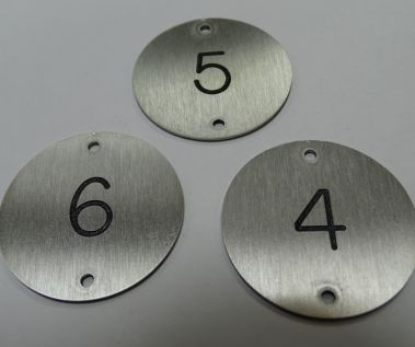 Stainless Steel Table Numbers - 30mm