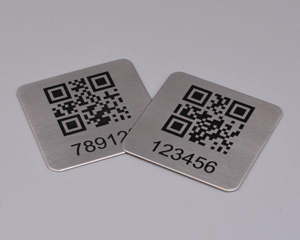 50x50 Steel QR