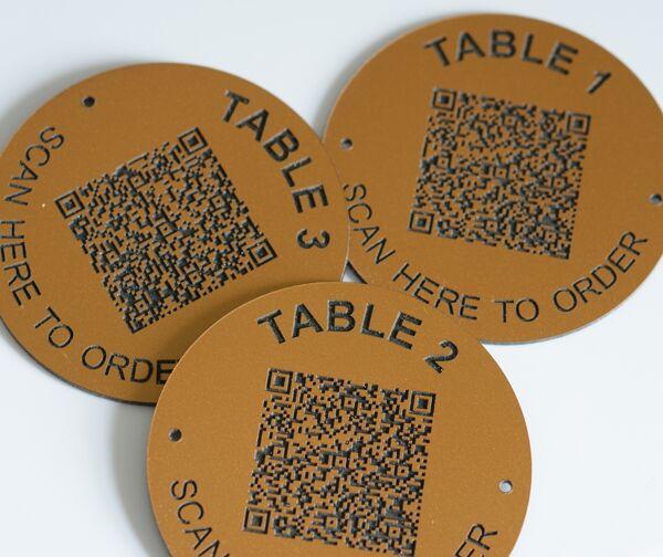 Matte Brass QR Table No 50 (1)