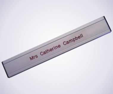 An image of Aluminium Door Sign - 300mm Long