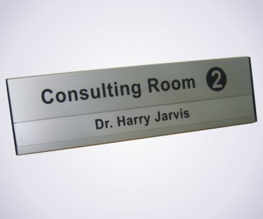 Aluminium Door Sign