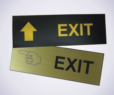 An image of Exit Sign - 450mm x 150mm