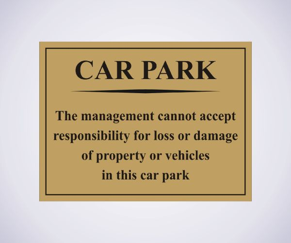 Car Park Notice