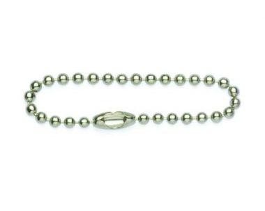 "4"" Tin Plated Ball Chain"