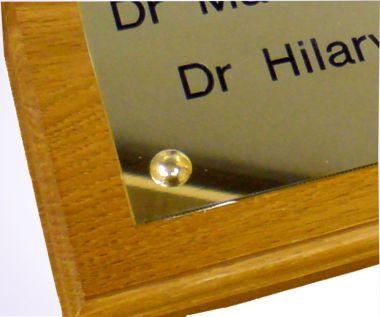Brass Nameplate