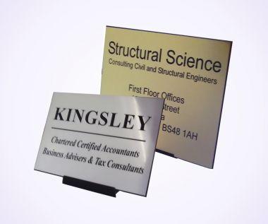 Impact Acrylic Nameplates
