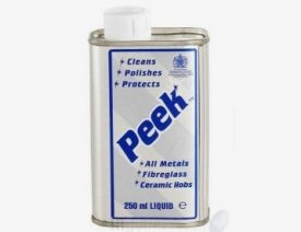 Peek Metal Polish 250ml Liquid Can