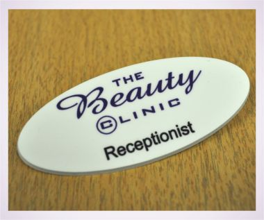 Printed Oval Badges
