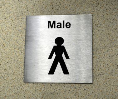 St/Steel Male Sign