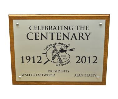 Aluminium Commemorative Wall Plaque