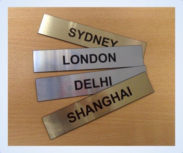 Clock Signs Office Signs Brunel Engraving