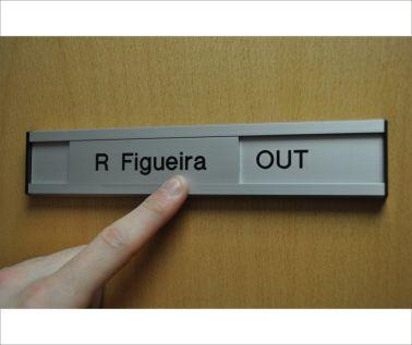 Aluminium Slider Sign