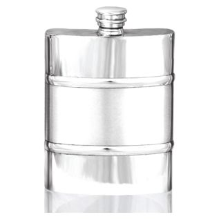 Pewter Hipflask with Satin Band SF5