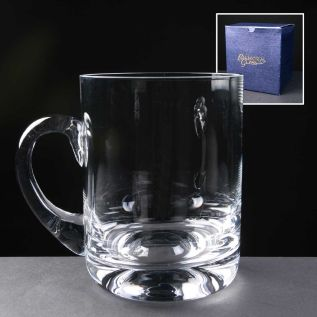 Personalised Glass Tankard - Rock Based