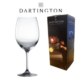 Engraved Red Wine Glass - Dartington Orbit