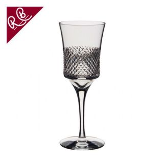 Engraved Wine Goblet - Royal Brierley Antibes