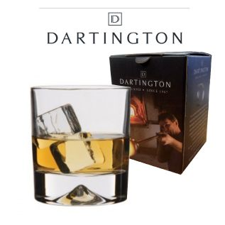 Engraved Whisky Tumbler - Dartington Dimple