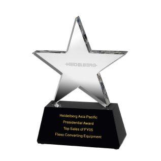 Optical Crystal Star Award AC87