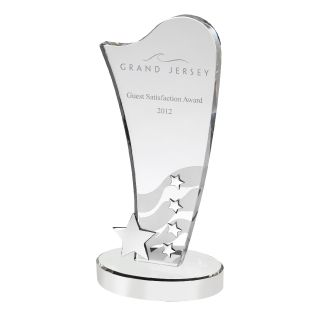 Glass Star Awards Trophy AC119