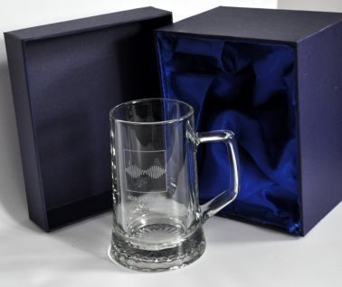 Personalised Large Stern Tankard