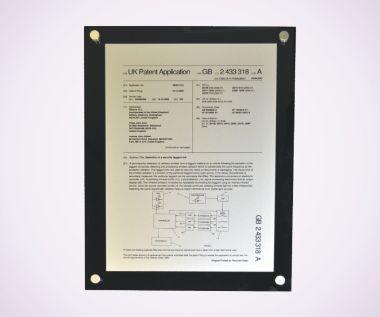 Metal Plate + Perspex Backing
