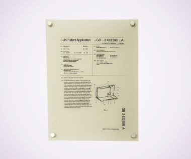 Perspex Print + Vinyl Backing