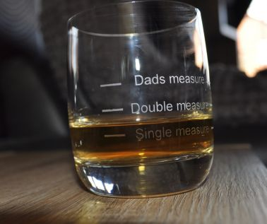 Personalised Whisky Tumbler - Dads Measure
