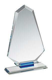 Engraved Crystal Award HC017