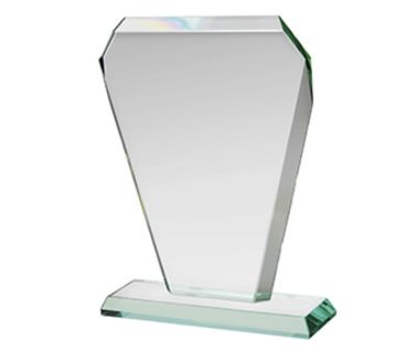 Etched Jade Glass Corporate Award HC012
