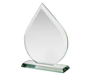 Corporate Glass Teardrop Award HC011