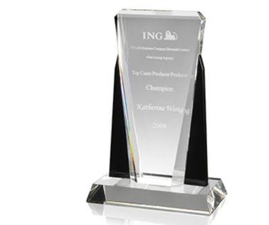 Optical Crystal Award AC76