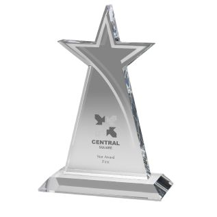 Optical Crystal Star Award AC59