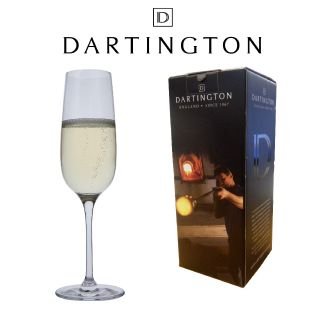 Engraved Champagne Glass - Dartington Drink Flute