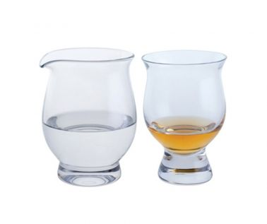 Dartington Connoisseur Whisky Glass & Water Jug Gift Set