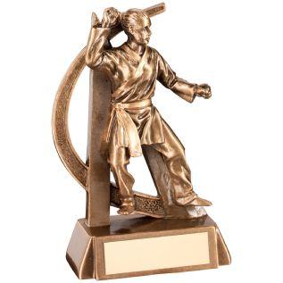 Female Martial Arts Trophies JR11-RF291