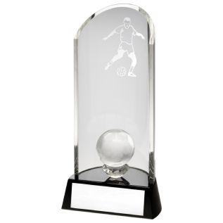 Glass Football Plaque JR1-TD131