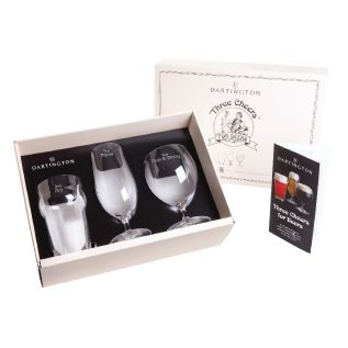 Engraved Boxed Gift Set - Three Cheers For Beers