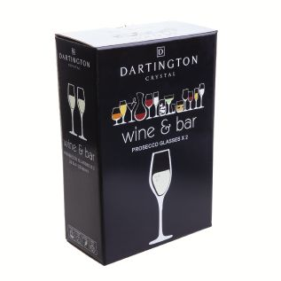 Dartington Crystal - Wine and Bar Prosecco (Pair)