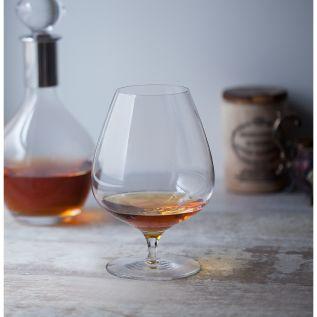 Engraved Brandy Glass - Dartington Origin